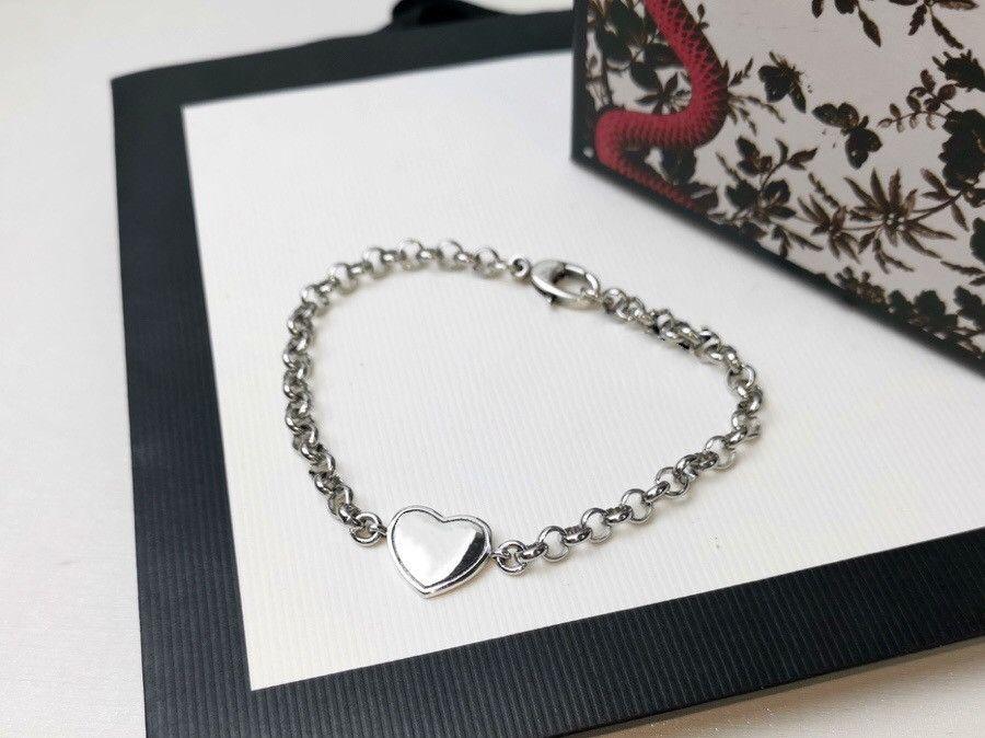 حار بيع مصمم سوار الأزياء أساور للرجل النساء مجوهرات قابل للتعديل سلسلة سوار الأزياء والمجوهرات 5 نموذج اختياري