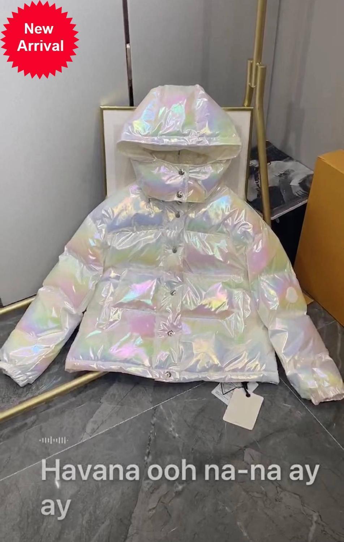 2020 otoño invierno nuevo diseño casual letra suelta camaleón color sombrero blusa abajo chaqueta para las mujeres 30661