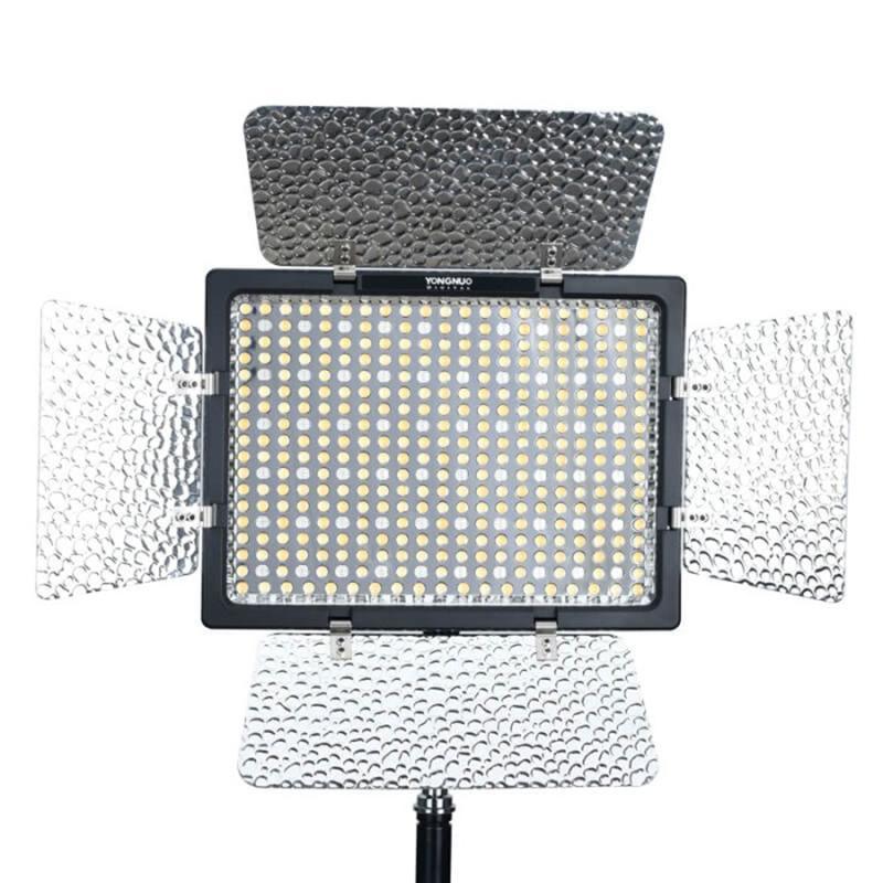 YONGNUO YN300IV YN 300IV 300 IV LED-Video-Licht RGB Full-Color 3200K-5600K-Lampe Fernbedienung Studio-Fotografie-Beleuchtung