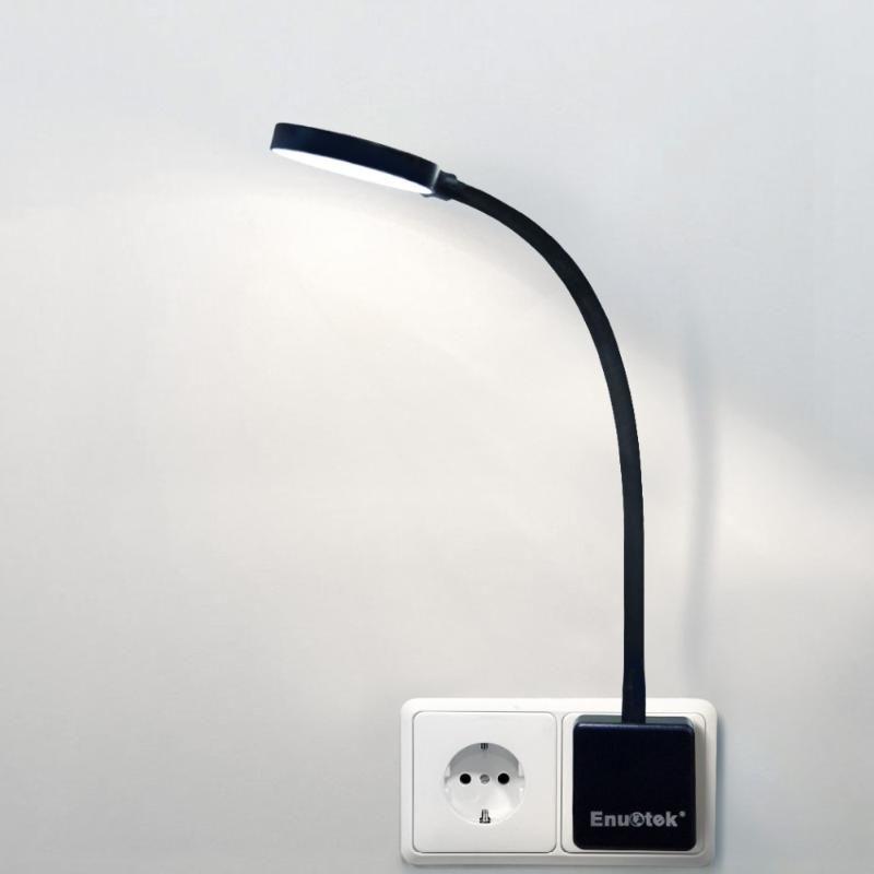 Настенный светильник в Dimmable качели ARM LED ночной свет с розеткой натуральной мощности натуральная белая не удаленная контролируемая версия