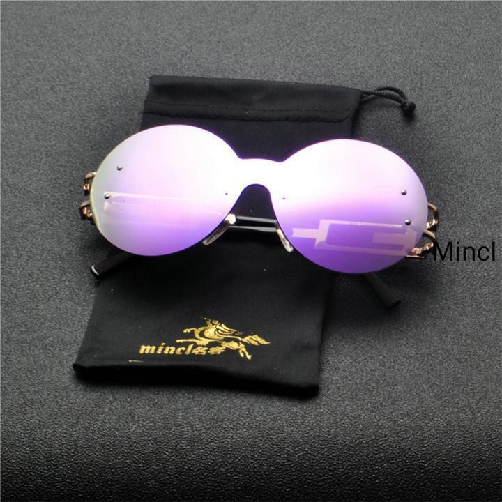 Sonnenbrille Brille Frauen 2020 Neue Stil Goggles Männer Big One Eyewear Sun Cool Marke UV400 Klare Stück Frame Mode FML Endnt