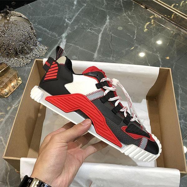 Dolce & Gabbana D&G 2021 Venta caliente de la mejor calidad Sneakers NS1 Sneakers Luxe Sneakers para mujer de moda zapatos de entrenador casual zapatos de mujer