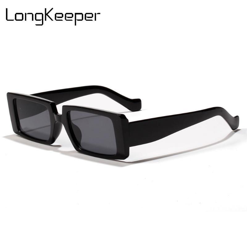 Черный толстый квадратный 2020 женские оттенки бренда для прямоугольника мода дизайнерские рамки очки солнцезащитные солнцезащитные очки мужчины ретро uculos uv400 tfnlx