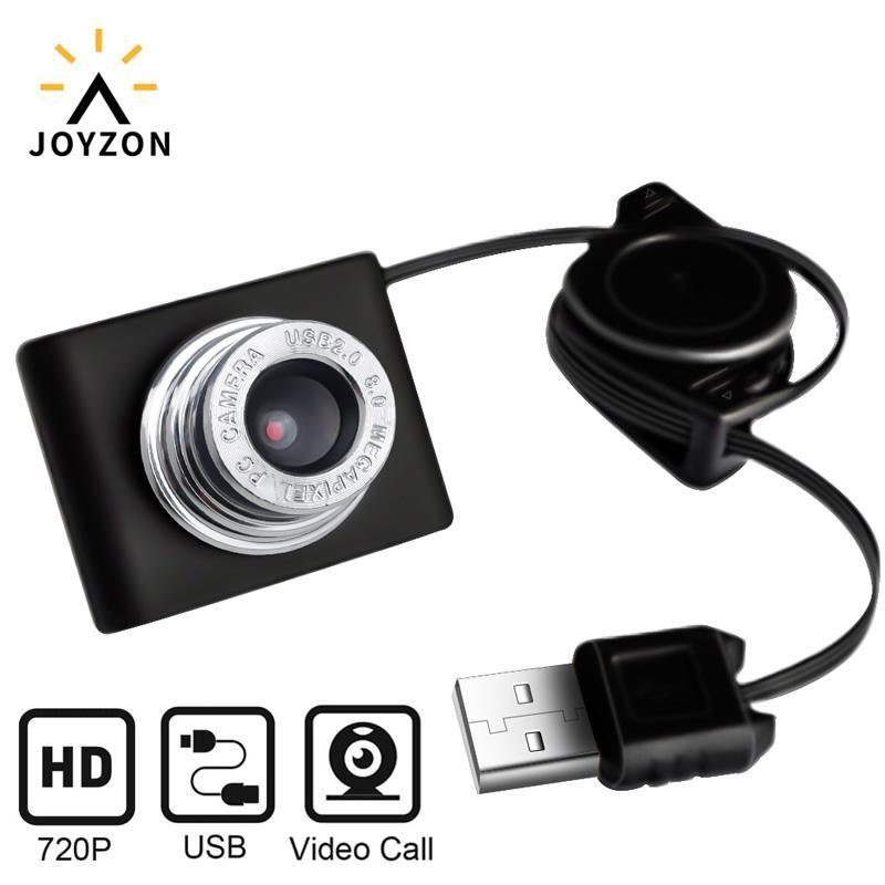 Веб-камеры Веб-камера 720P USB-камера Rotatable Web запись видео с микрофоном для проживания в прямом эфире.