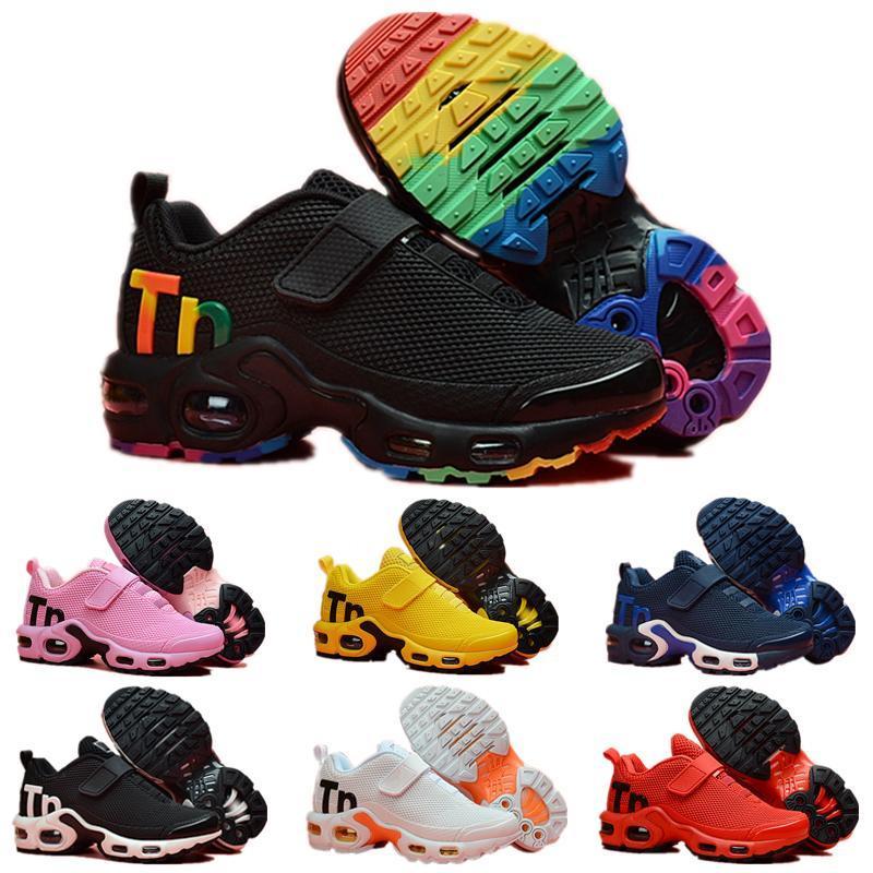 2020 حار بيع أطفال tn الرياضة تشغيل أحذية الأطفال الصبي والبنات المدربين tn أحذية رياضية كلاسيكي طفل صغير أحذية رياضية الحجم 28-35