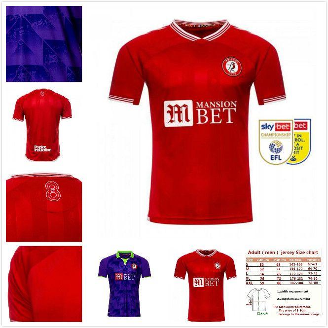 20 21 Bristol City Soccer Jersey 2020 2021 Paterson Camiseta de fútbol Kalas Kalas Weimann