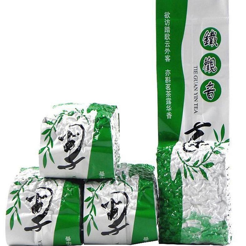 Tercih 125g Çin Organik Oolong Çay Anxi Tieguanyin Yeşil Çay Yeni Bahar Çay Sağlıklı Yeşil Gıda Vakumlu Ambalaj
