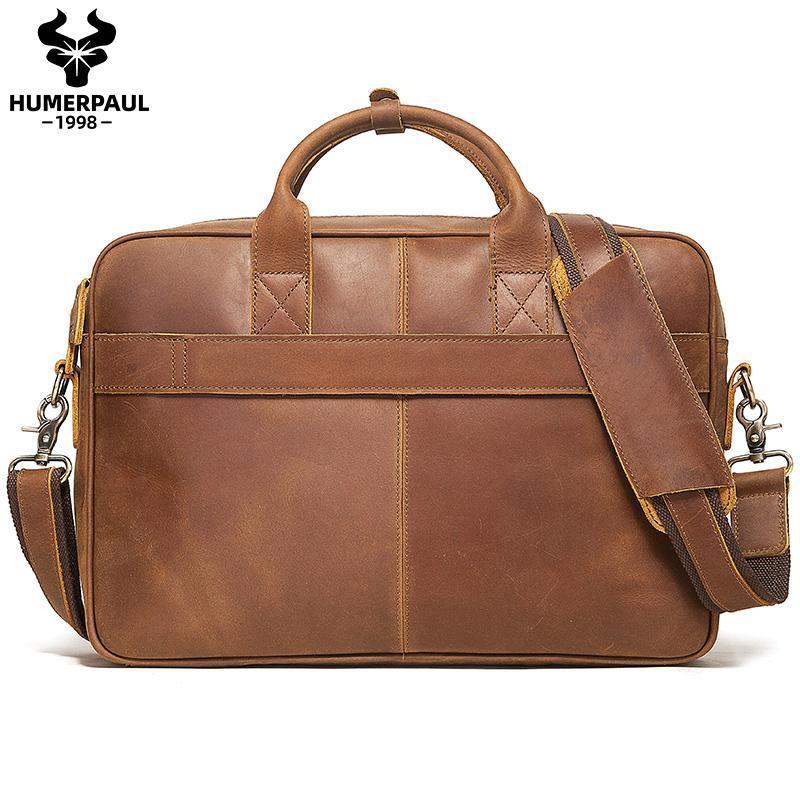 Borsa Briefcase Messenger Pelle Borsa a tracolla Business Business Laptop Ufficio Ufficio Uomo Spalla per Borse Maschio 13 '' Borsa da viaggio Lsuxh