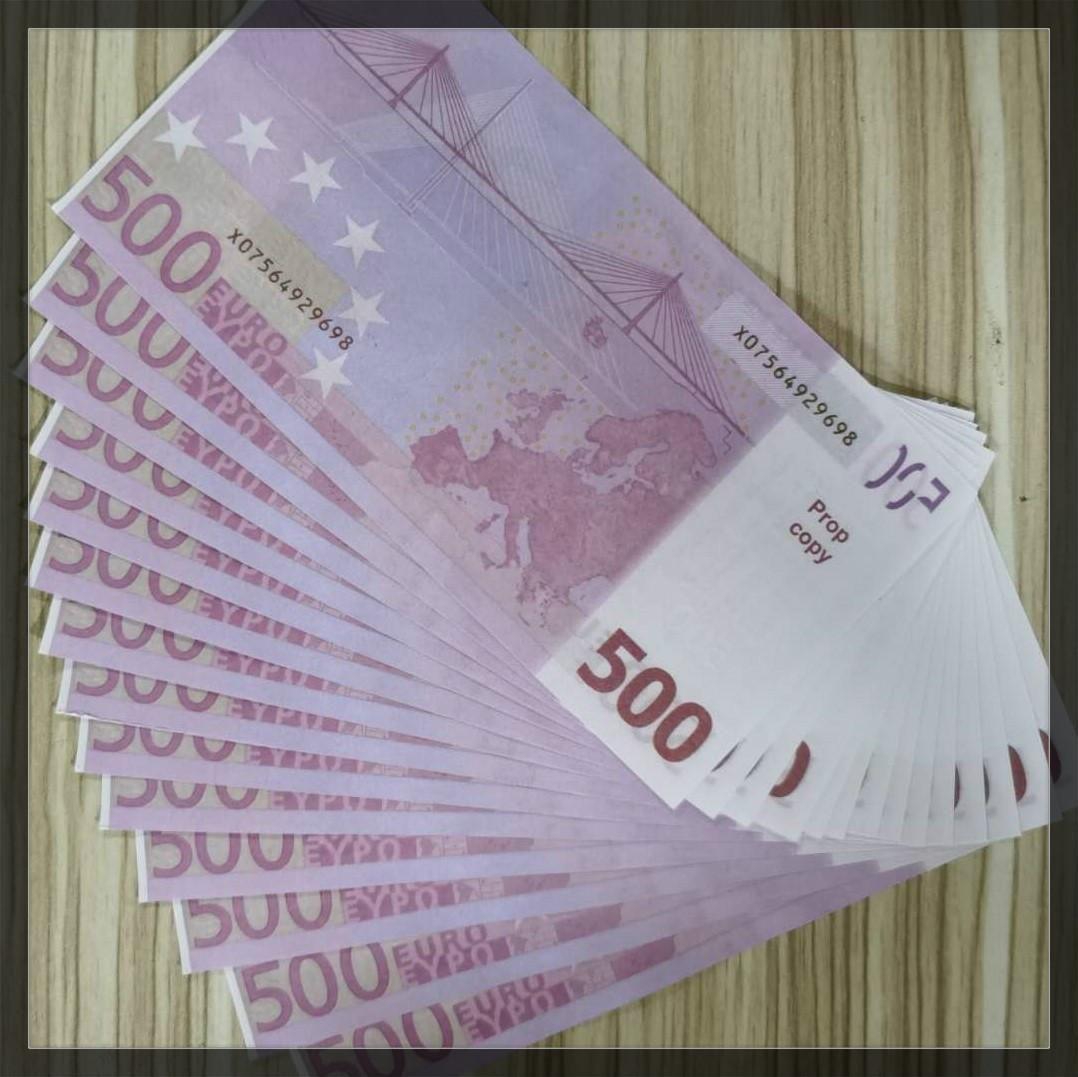 Prop Games Geschenke Geld Festliches Lernen Gefälschte Kopie 500 Geldpapier Euro Spielzeug Kinder Party Sammlungen Werkzeug MJDLM