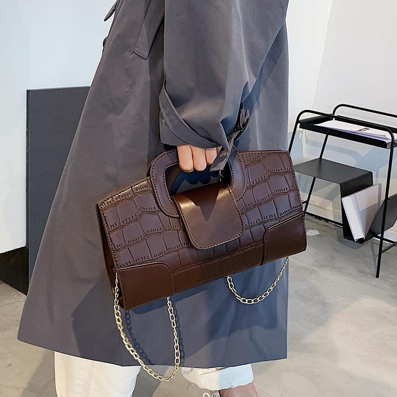 Küçük Çantalar Messenger SAC Vintage Yeni Kabuk Çanta Çanta Markaları Çanta Kadın Omuz Çanta Ünlü Casual Kadınlar Çanta Deri Kürvk