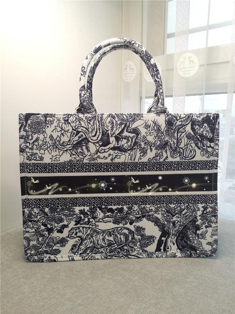 Europa América Designer de luxo mulheres saco moda senhora de alta capacidade lona impresso viajar mensageiro saco