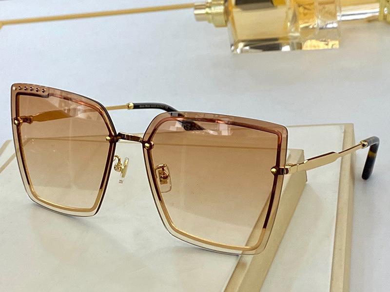 U72 New Fashion Sunglasses With UV Protection for men Women Vintage Invisible frame popular Top Quality Come With Case classic sunglasses