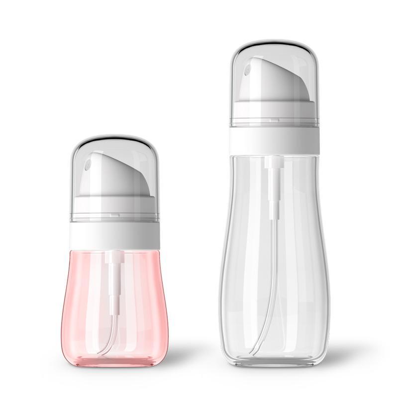 50ml 100ml 100ml portatile durevole di stoccaggio durevole bottiglia di plastica trasparente atomizzatore di plastica vuoto mini bottiglia spray