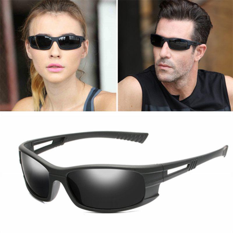 Nouveau designeurs de marque polarisée Verres rétro sports de plein air Pêche Lunettes de soleil Vintage lunettes de lunettes de lunettes chaudes UV400