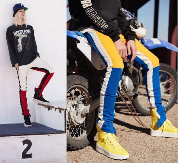 I pantaloni antico hop hop high hop hightre high street high street high street pantaloni abbinati a colori