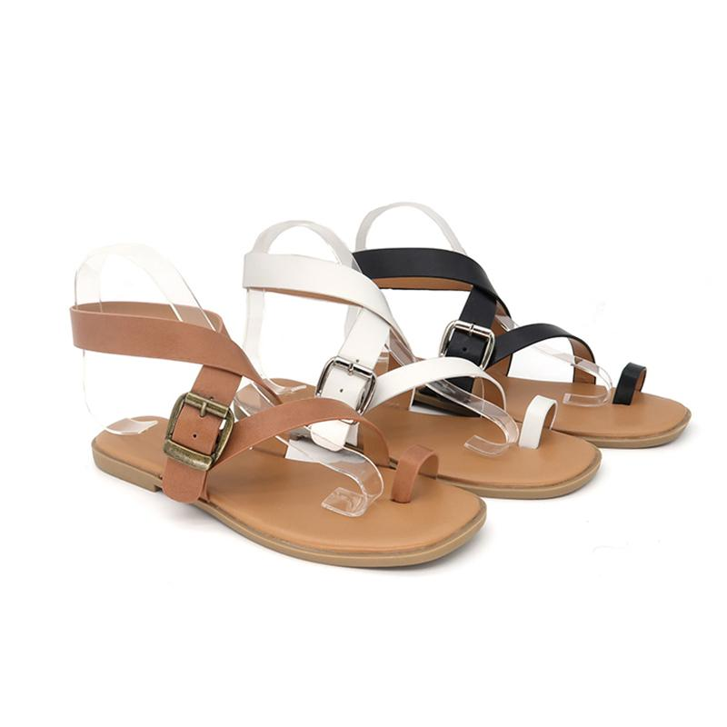 Sandalias Mujeres Casual Summer Designer en línea Cómodo zapatos de fiesta Multicolor en venta