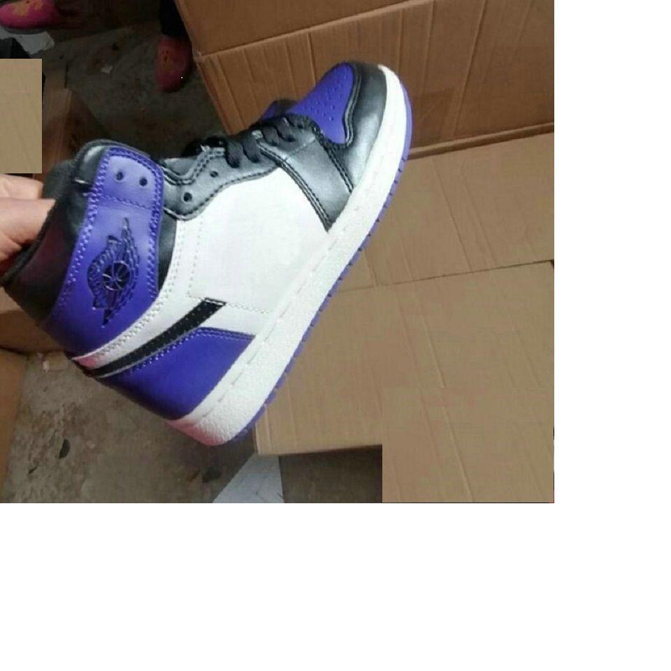 NOUVEAU Bio Hack Pine Green 1 1S Court Purple Jumpman 1 Enfants Femmes Chaussures de basket Basketball Fearless Royal Toe Obsidian Sports Sports Sports de plein air