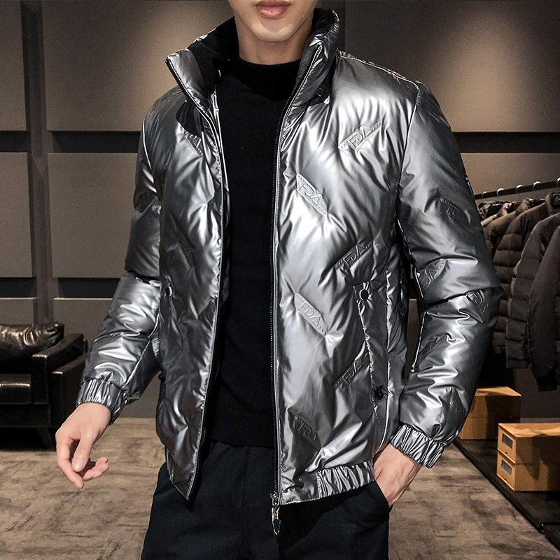K4BY Uzun Kalınlaşmak Pamuklu Ceket Kapüşonlu Kürk Faux Uzun Aşağı Kış Kış Yeni Kalınlaşmak Sıcak Pamuk Ceket Aşağı