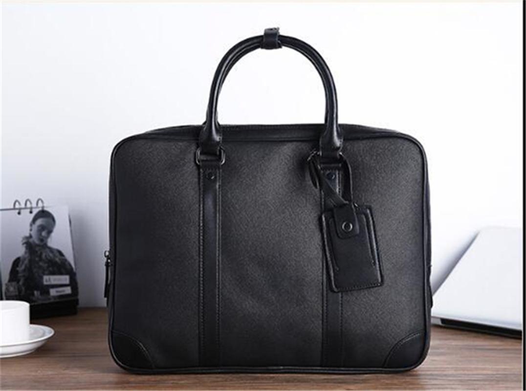 Mode Freizeitdokumente, Computer, Business, File Bags, Mode Leder Herrenhandtaschen, große Kapazität schräg schräge Einfache Herrenbeutel.