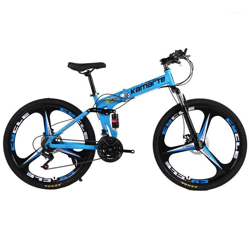 30speed الدراجة الجبلية دراجة للطي الكبار mtb 24/26 بوصة سكين عجلة الكربون الصلب إطار مزدوج القرص الفرامل الطالب bike1