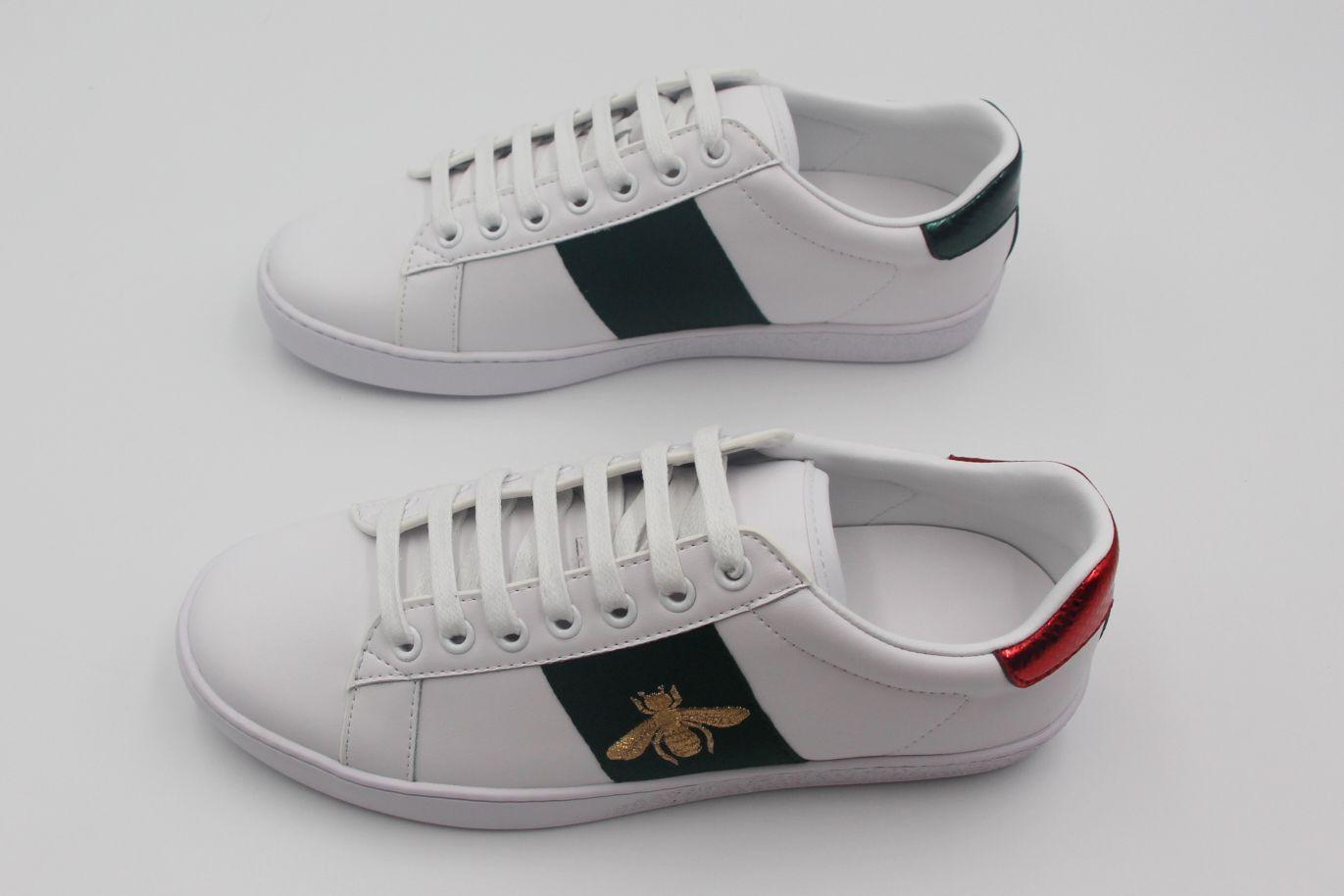 Moda mulher homem sapatos lace-up sapatos liso tigre cobra bordado senhora sneeke menino sapato sapato branco sapatos