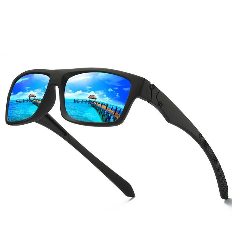 Marke Polarized Drive Outdoor Männer Angeln Sonnenbrille UV400 Männer Sport Eyewear Polarisierte Brille Sun Herren Quadratische Linsen Brille Udnxd