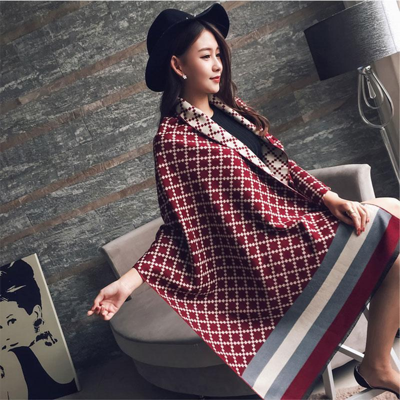 2020 Hijab Brand Cashmere Scar Female Thickening Warming Shawl Cachecol Bandana Poncho Foulard Femme Scarves Echarpe