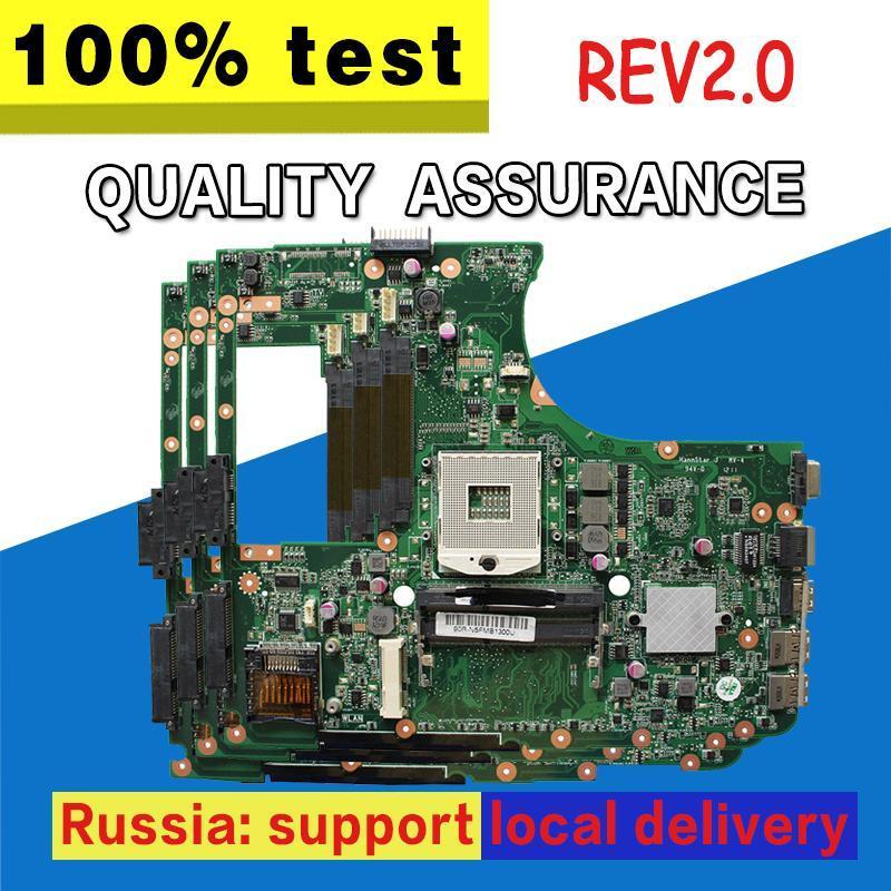 N55SF Motherboard Rev 2.0 For Asus N55S N55SL N55SF Laptop motherboard Mainboard test 100% OK