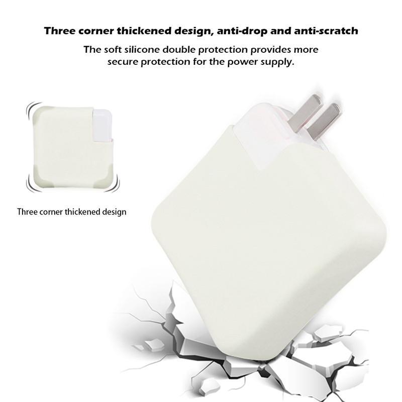 Silicone Dustproof Charger Protetores Capa Para caso protetora da pele Laptop buchas de fixação Acessórios
