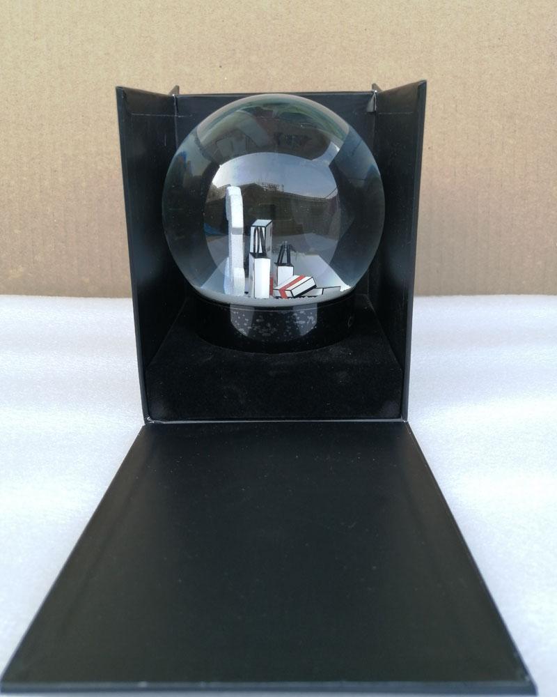 New C Regalo di Natale Neve Globe C Classics Lettere Palla di cristallo con confezione regalo Especial Limited Regalo per il cliente VIP HHE2806