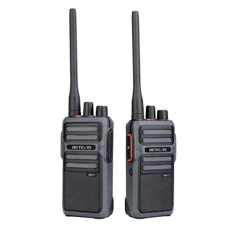 워키 토키 Retevis RB17 FRS 라이센스 무료 16 채널 양방향 라디오