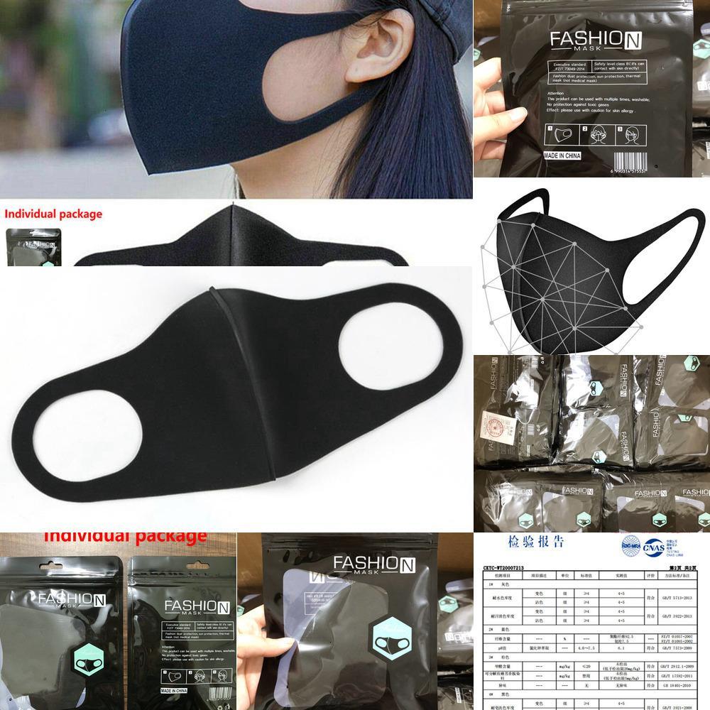 Face face máscara anti dust nevoeiro boca ar purificando filtro máscaras à prova de poeira, respirável e lavável prevenir gotículas de spreadi