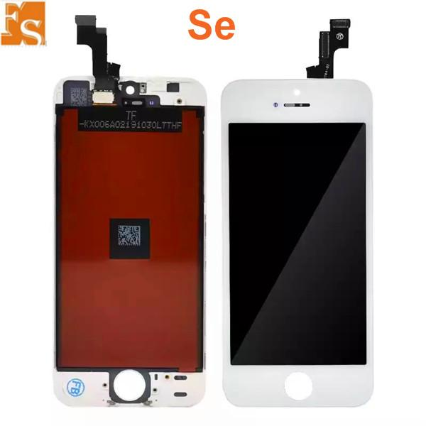 2021 New LCD Screen for iPhone 5G 5C 5S SE LCD Touch Digitizer Cold Press Frame Assembly No Dead Pixel DHL Free shipping