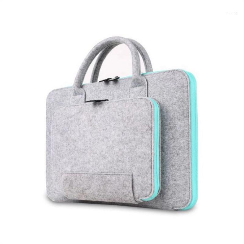 Personaliza os homens e mulheres sentidos saco portátil notebook Business Billcase1