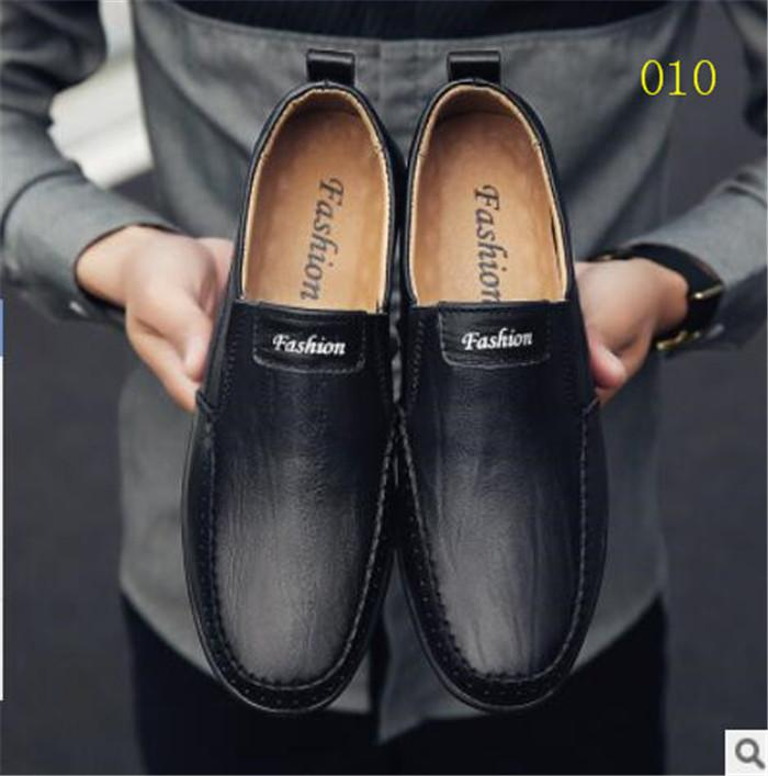 New Hombres Zapatos Primavera Otoño Casual Cuero Zapatos Planos Lace-Up Low Top Blanco Zapatillas Masculinas Tenis Masculino Zapatos Para Adultos