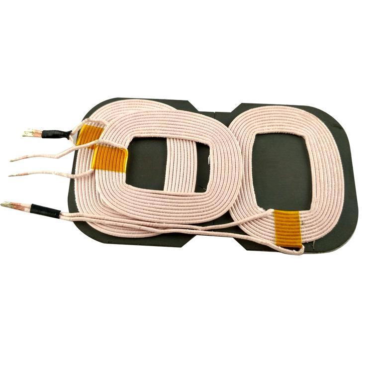 Üreticiler tedarik A6 Kablosuz Şarj Verici Üç Bobin 10W Cep Telefonu Kablosuz Şarj Bobini Çok sayıda stok