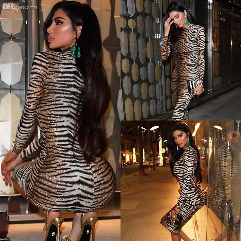 PSRRQ повседневное платье без бретелек леопардовый ремешок для печати платье с длинным рукавом.