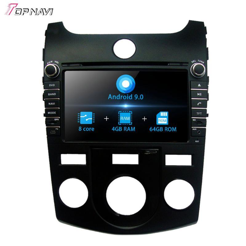 8'' Octa Core Android 9.0 Car Radio GPS player For KIA CERATO/FORTE Manual Air-Conditioner version 2008-2012 Stereo system 2Din car dvd
