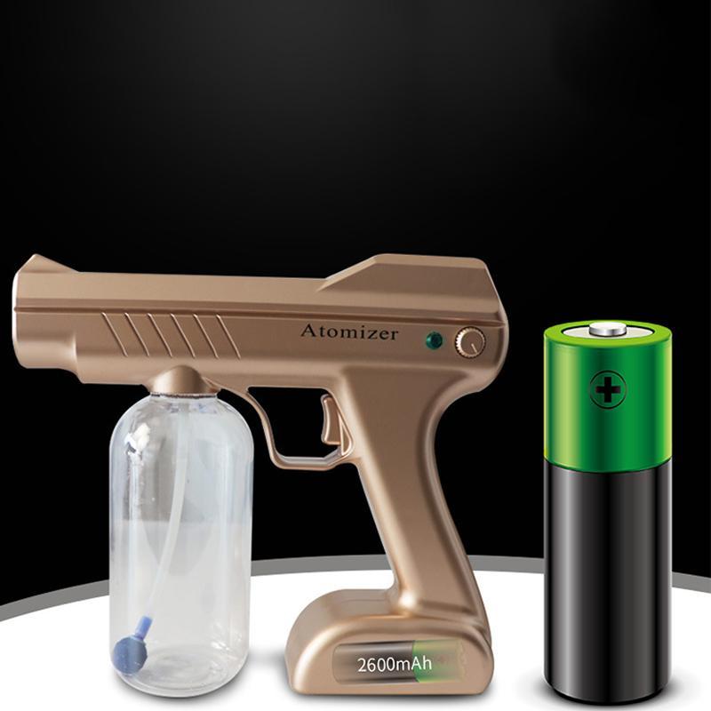 Hand Held Sprayer Watering Can Mist Spray Bottle Garden Hoses Fogger Nano Sanitizer Gun ULV Fogger Plastic Spray Bottle Fog Machine