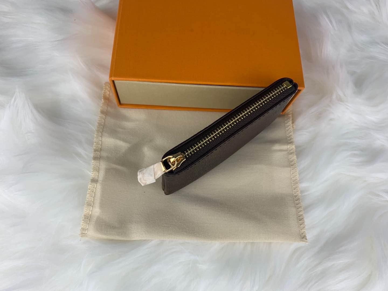 Tasche Herrenhandtaschen Womens Münze Pochette Geldbörse Ringschlüssel Mini Luxus Cles Handtasche Brieftasche Taschen LBRMT