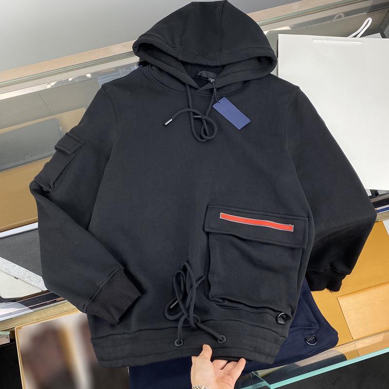 Homme Designers Vêtements Hoodie Triangle Triangle Hoodies Veste Mens d'hiver Hommes Designers Chandiers Hommes S