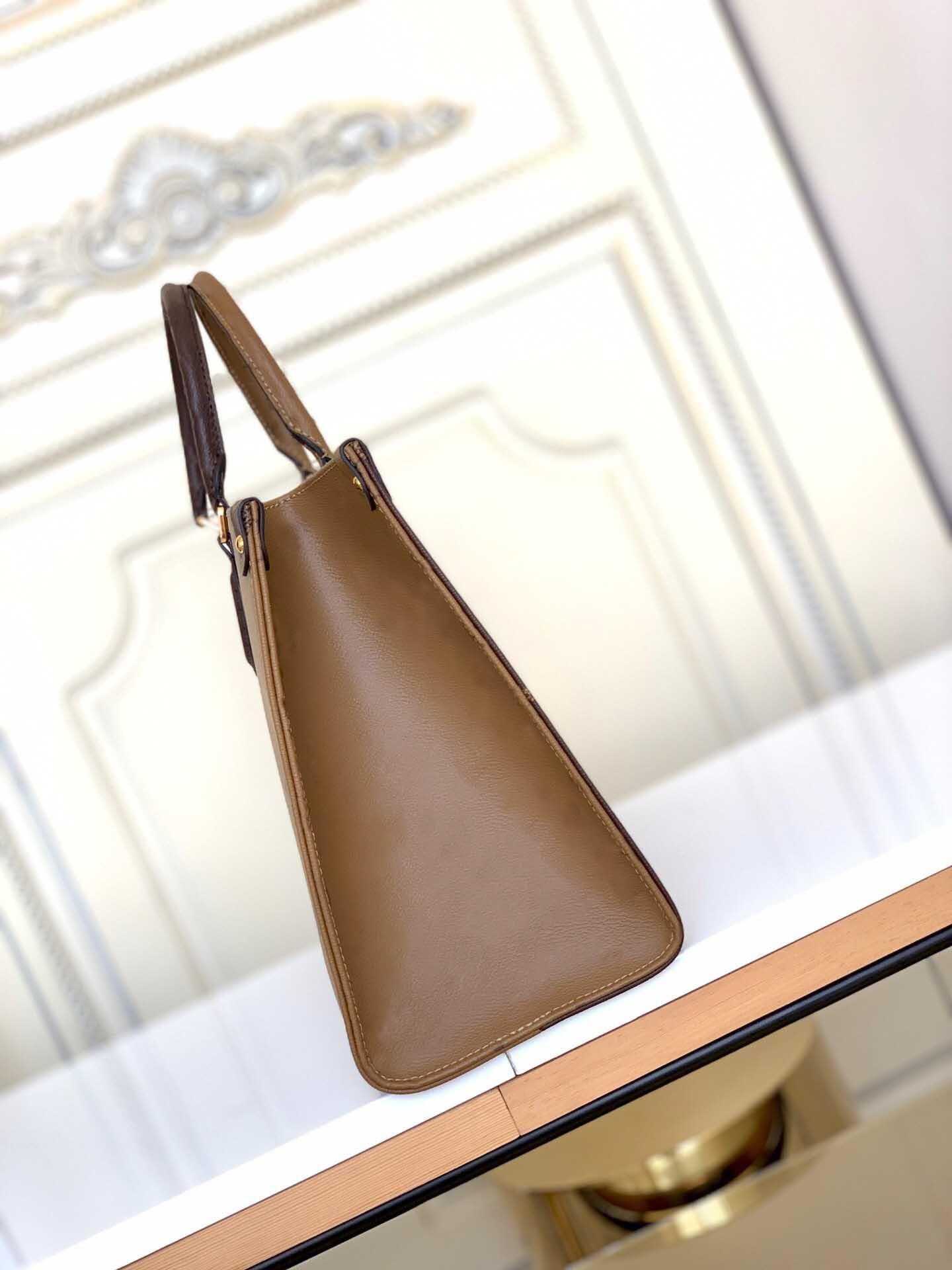 Serial de alta qualidade bolsa de ombro couro real embreagem bolsa bolsa de bolsa feita mulher em insid m45039 número esnjx