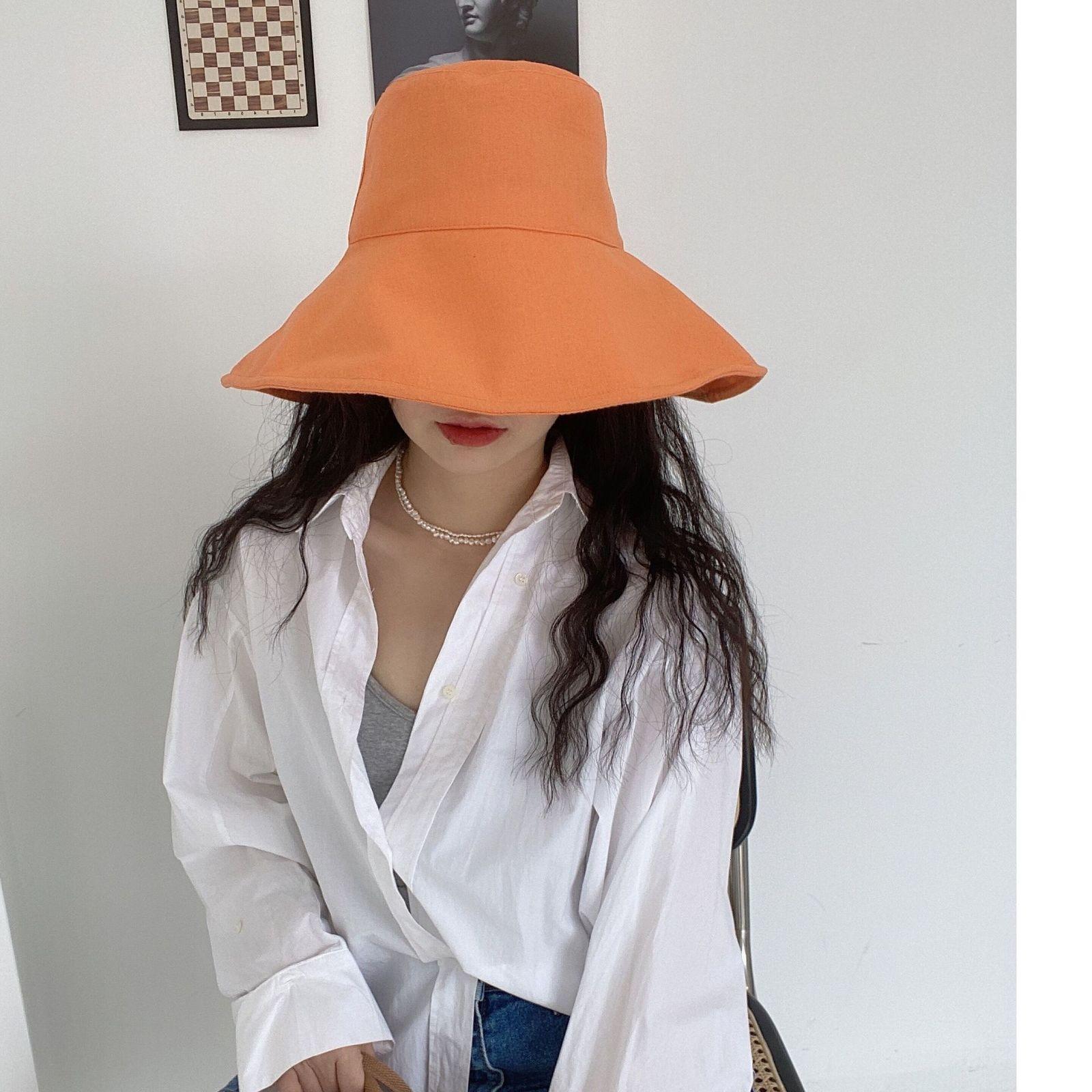 Güney Kore Doğu Kapısı Şapka Çocuk Yaz Sanatı Balıkçının Şapka Klwe
