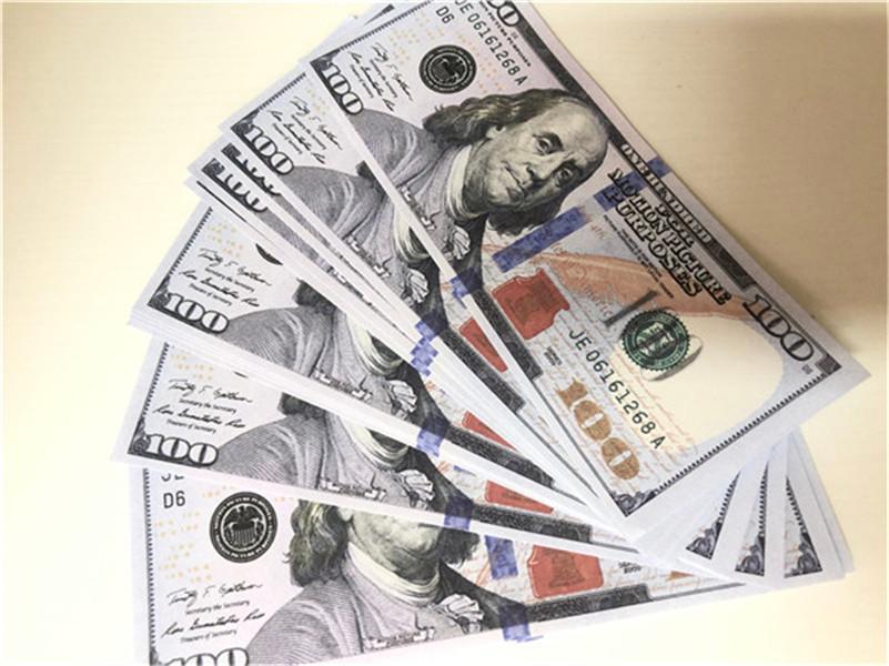 Hot Shore Simulation USD Fake Banknotes Игрушки Игрушки и телевизионные Реквизиты Бар Реквизит Практика Банкноты Игра 14