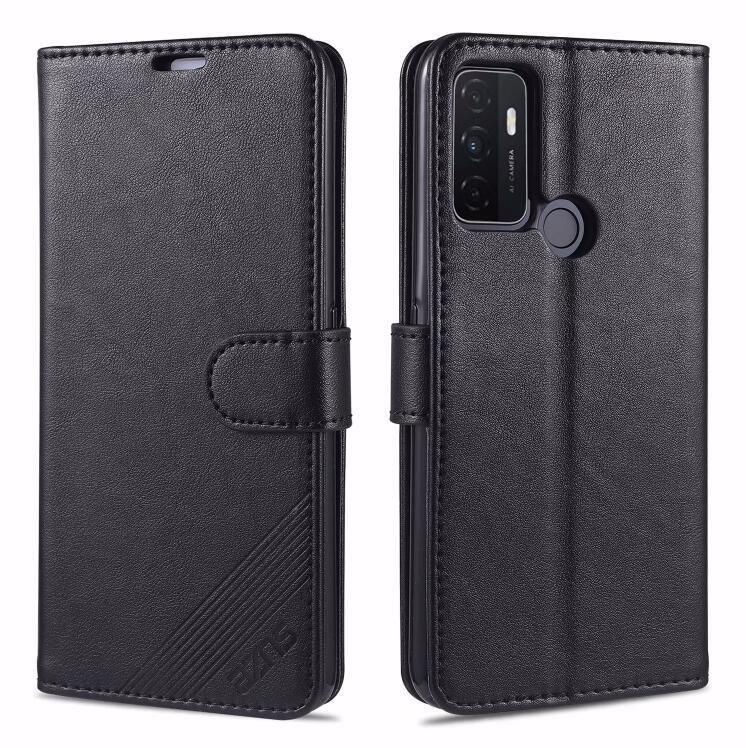Exquisite High Quality Classic Cool Cover Slim Flip Luxury Original Leather Case For OPPO Reno 4