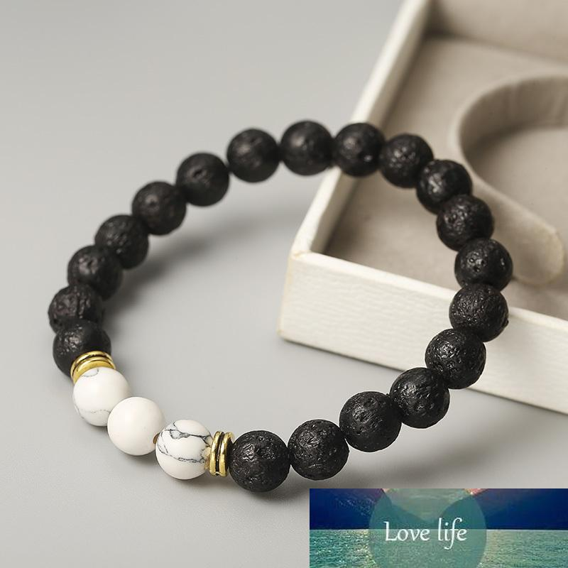 Bracelet pierre pierre pierre pierre bouddha bracelet chakra lava pierre diffuseur bracelets hommes bijoux cadeau goutte expédition