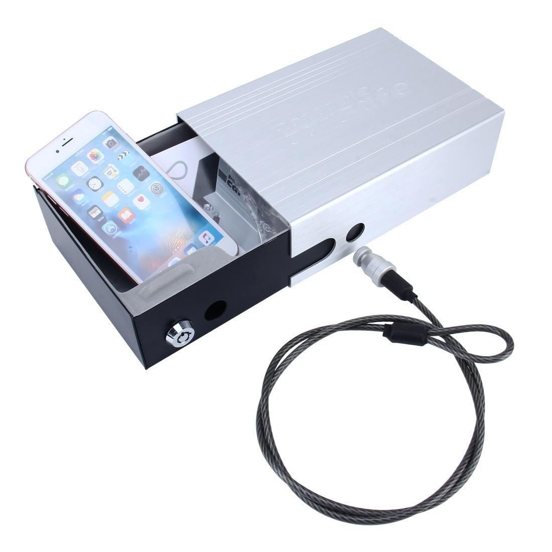 Homewares портативный автомобильный сейф для хранения для денег паспорта монеты ювелирные изделия мобильные телефоны ключевые солнцезащитные очки