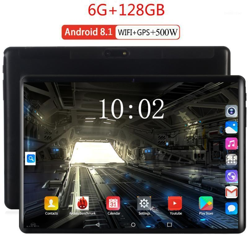 Tablet PC 2021 10.1 Inch Android 9.0 Octa Core RAM 6GB ROM 128GB 3G/4g LET Smart Phone WiFi GPS Tablets 10 Kids Gift1