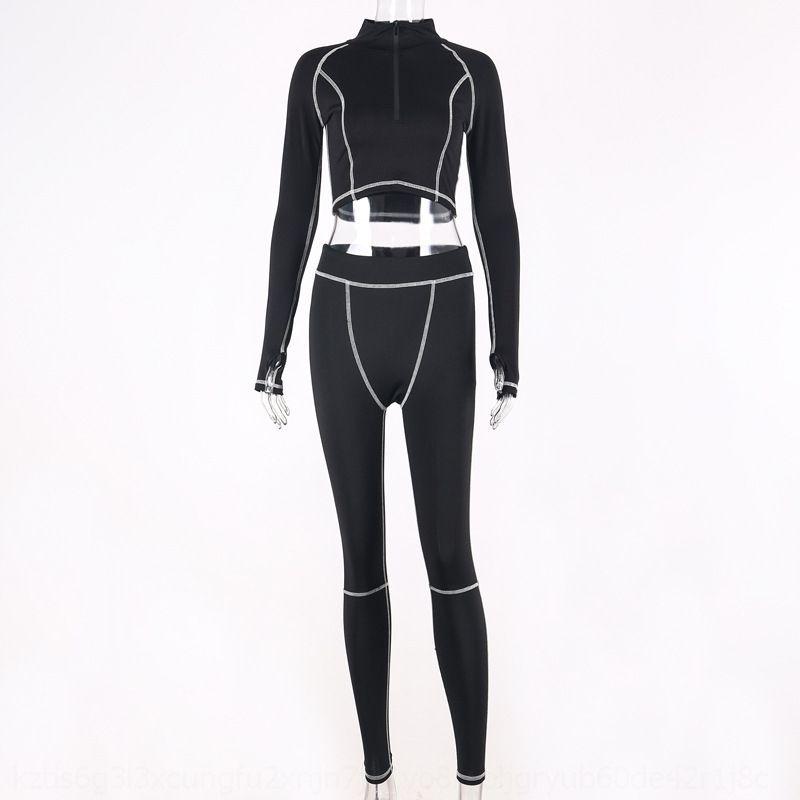 OPIB 2020 Nouveau Designer Femmes Tracksuit Fashion Deux Camisole Tops Shorts Casual Pipe Pantalon d'été Set Suit Fitness Outfits