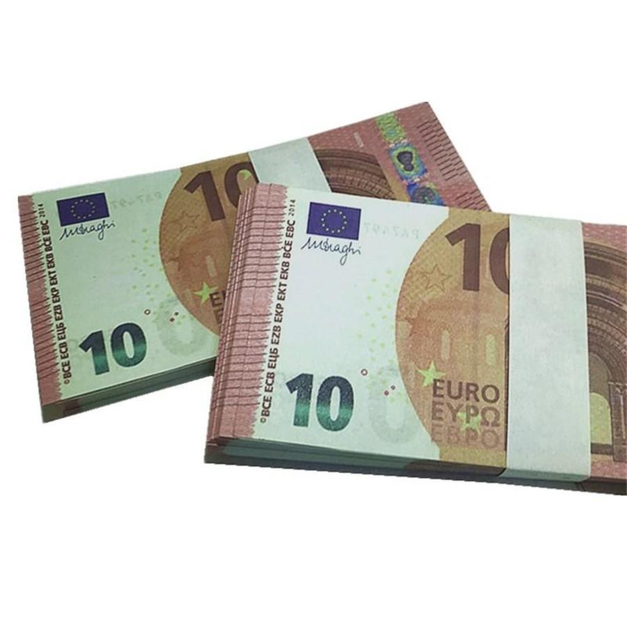 Bar aokmu accessoires film faux spectacle 100 accessoires magie monnaie en gros Euro bills enfants jouet cadeaux argent H8 Party IHCPV